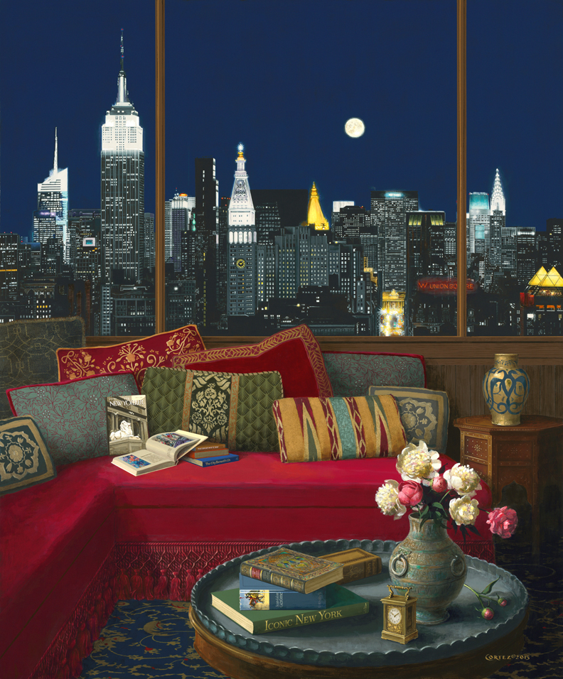Manhattan in the Moonlight
