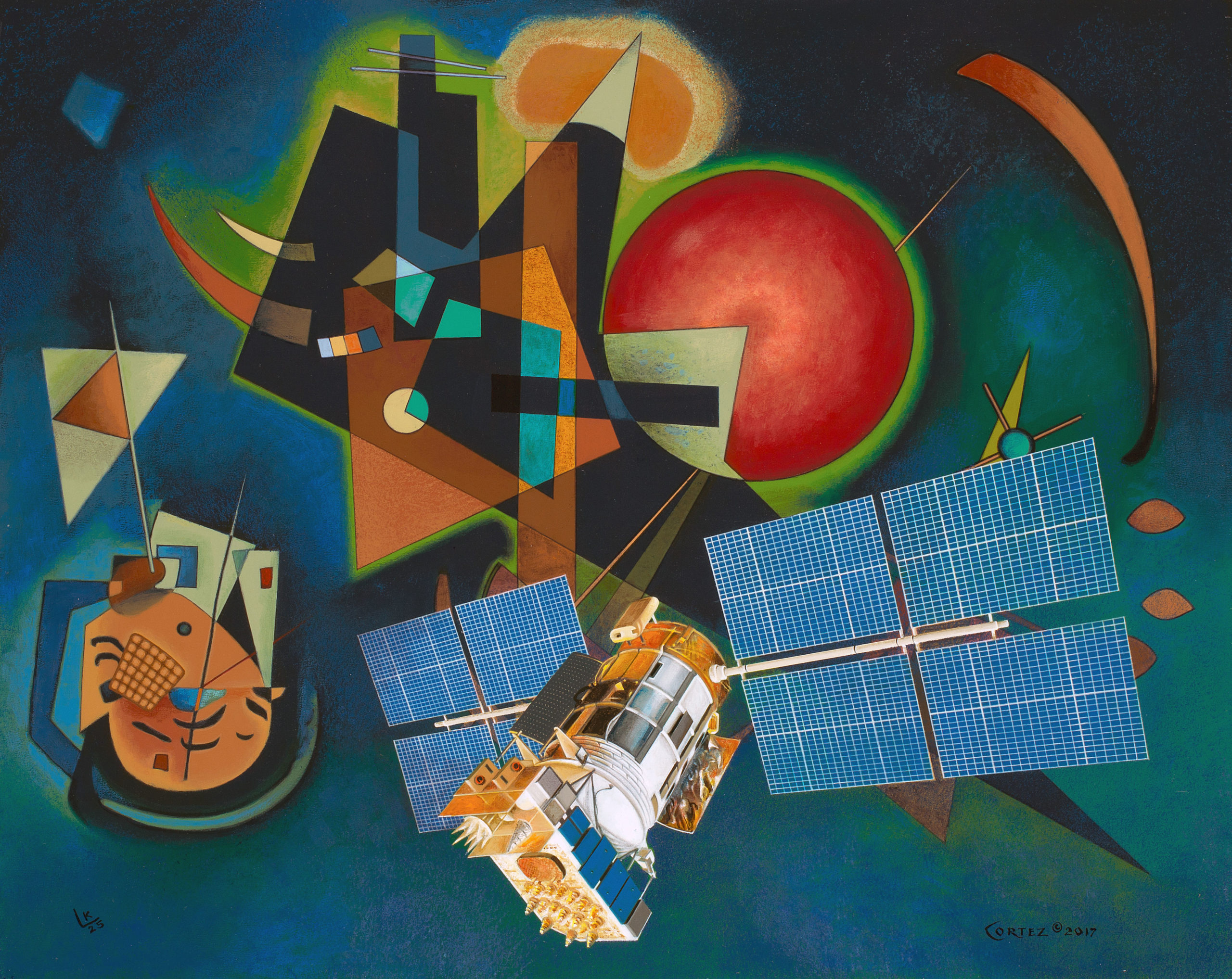 Kandinski and Cortez:  GPS