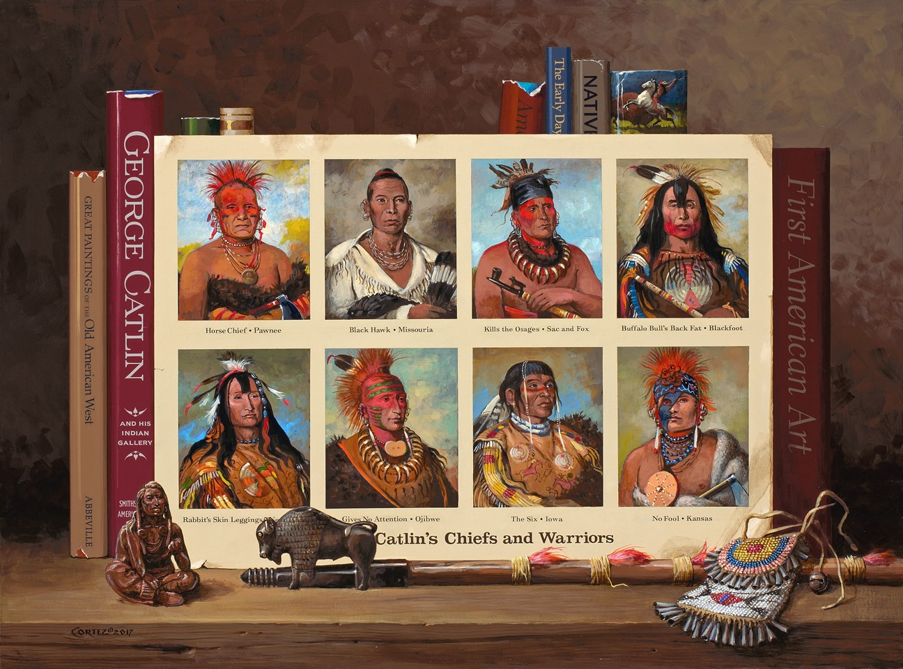Catlin's Chiefs and Warriors
