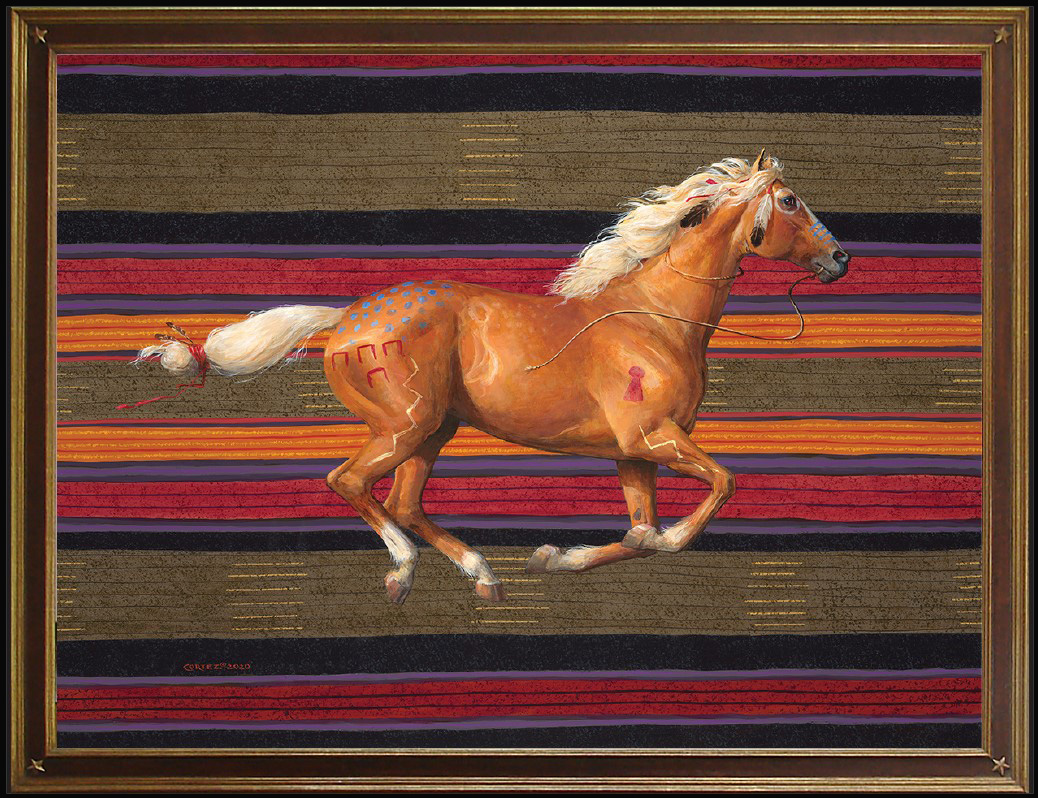 War Horse #3 Palomino